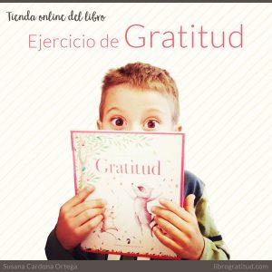 Tienda online del libro Ejercicio de Gratitud, de Susana Cardona Ortega, autoedición.